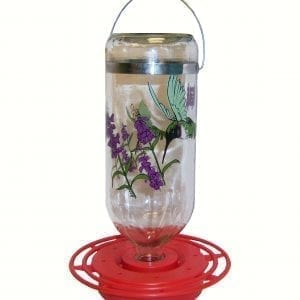 Boxed Black Chinned Hummingbird Feeder