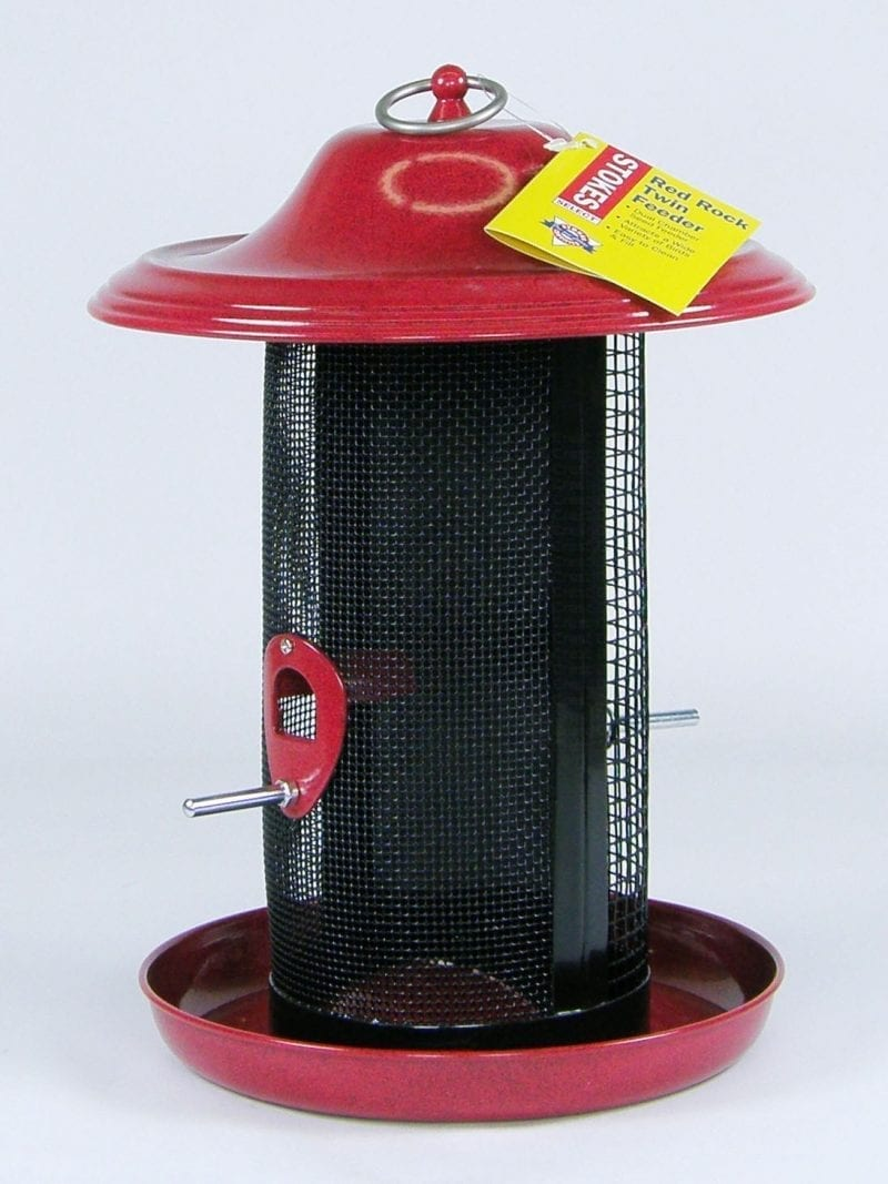 Red Rock Twin Bird Feeder