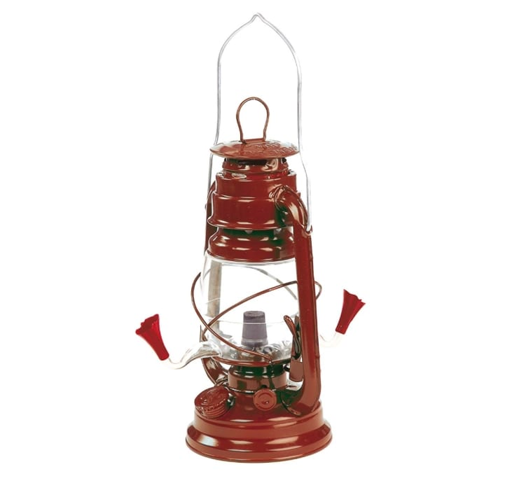 Hurricane Lantern Hummingbird Feeder