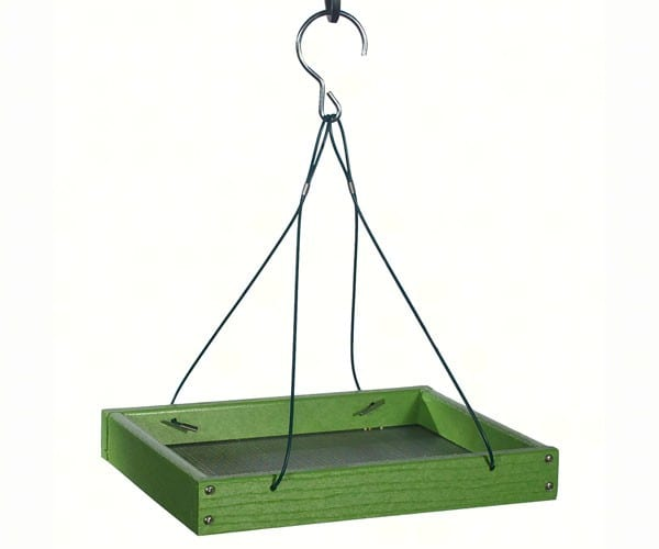 Go Green Platform Feeder Light Green