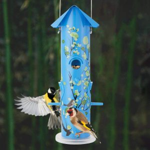 Hanging Wild Bird Feeders Metal Tube